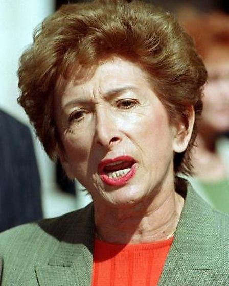 Former Council Leader Dame Shirley Porter (Pic credit: PA)