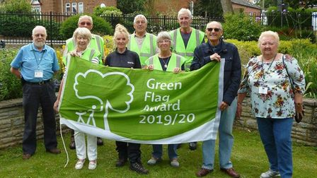 Nicholas Everitt Park has won the Green Flag Award for the ninth consecutive year. Picture: Oulton B