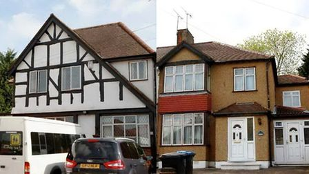 Pettsgrove Care Home, left, and Mosaic House, have both been told they require improvement (Pic cred