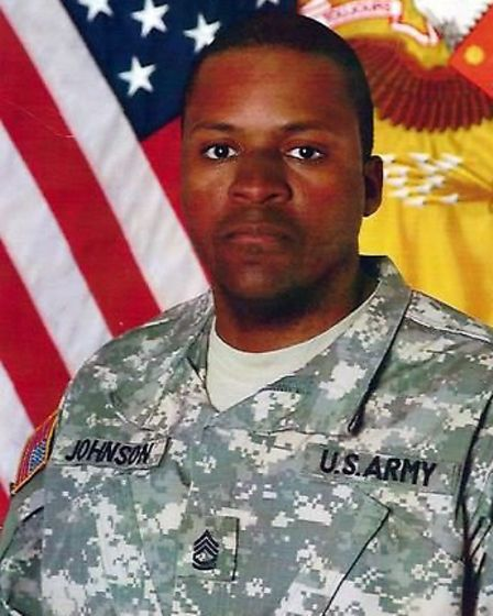 Sergeant First Class Randy Johnson was killed by a bomb (Pic credit: Central News)