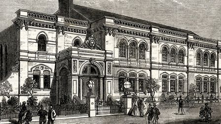 The North London Synagogue in 1868