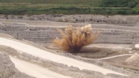 The WW2 bomb has been safely detonated (Pic credit: Twitter@armyinlondon)