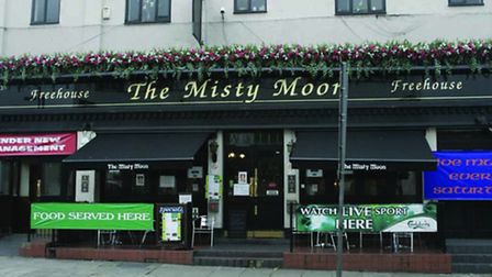The pub was formerly known as The Misty Moon