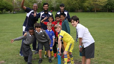 30 young cricketers joined coaches for the launch of Paddington Juniors last week
