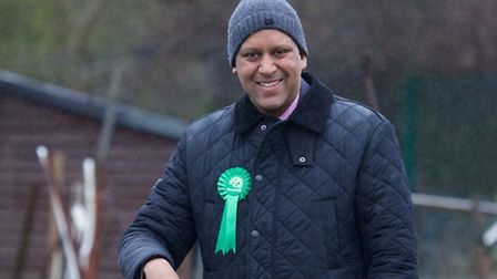 Shahrar Ali is the Green Party candidate for Brent Central