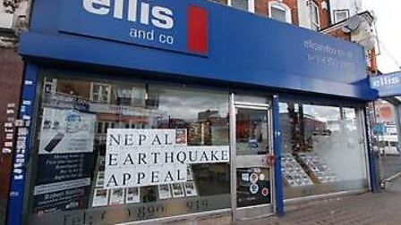 Ellis and Co in Wembley are fundraising for the victims of the Nepal earthquake