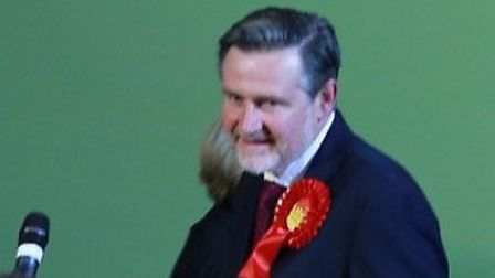 Barry Gardiner wins Brent North for fifth time Pic credit: Angela Blake
