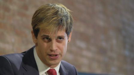 Milo Yiannopoulos holds a press conference In which he quits Brietbart News Featuring: Milo Yiannop