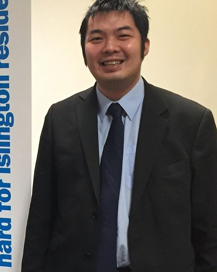 Dr Mark Lim, Conservative candidate for Islington South and Islington North