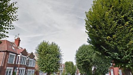The 19-year-old was shot in Blenheim Gardens in Willesden Green (Pic credit: Google Streetview)