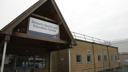 The current Moberly Sports Centre
