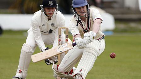 Evan Flowers hit 67 but North Middlesex were defeated by Ealing. Pic: Max Flego