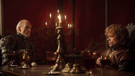 Charles Dance as Tywin in Game of Thrones. Image: Game of Thrones/HBO.