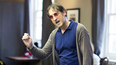 Alistair McGowan in rehearsals for An Audience With Jimmy Savile. Picture: Helen Maybanks