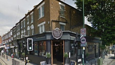 The dog was stolen outside Alice House in Queen's Park (Pic credit: Google streetview)