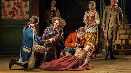 Timothy Watson, Jane Booker, Pearce Quigley, Amy Morgan, Molly Gromadzki and Nicholas Khan in the Be