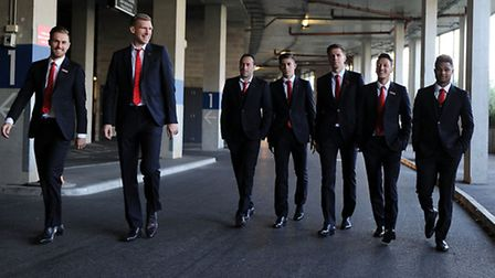 Arsenal stars put their glad rags on for the club's Charity Ball