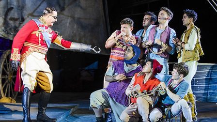 A scene from Peter Pan by J.M. Barrie @ Regent's Park Open Air Theatre. Picture: Tristram Kenton