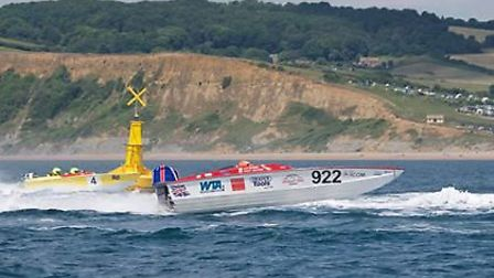 Lowestoft will be home to the exciting sport of powerboat racing this weekend. Photo: Offshore Circu