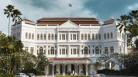 Raffles: One of the world's most famous hotels
