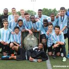 Brent Under-15s beat south London 4-0 to win the London district cup final