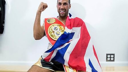 Harlesden's James DeGale is the IBF world champion. Pic: Mark Robinson