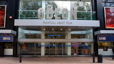 A general view of The Odeon Cinema in Leicester Square (Pic credit: PA)