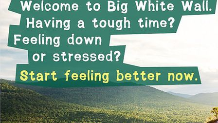 Residents can recieve free online one-to-one sessions (Pic credit: Big White Wall)