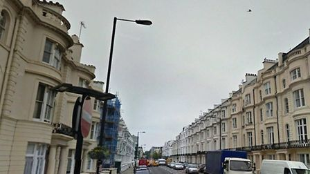 The shooting took place on Gloucester Terrace (Pic credit: Google streetview)