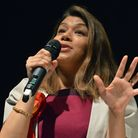 Tulip Siddiq addressing a hustings before the general election. Picture: Polly Hancock.