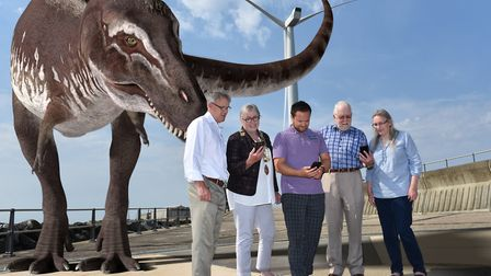 A new interative game has launched in Lowestoft, featuring fairies, dinosaurs and planets. Picture: