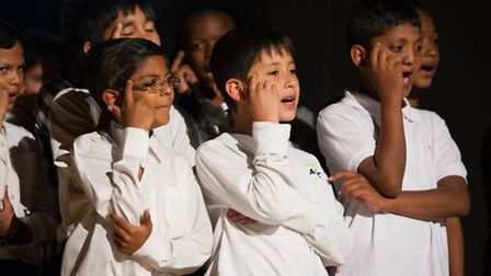 Six primary schools in Brent closed the Shakespeare Festival performing different scenes from Hamlet