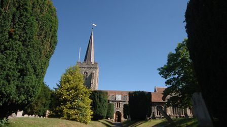 Wingham is a delightful hamlet complete with village church