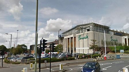 The boy was hit by a car outside Brent Cross Shopping Centre (Pic credit: Google streetview)