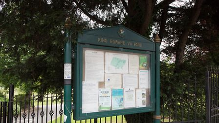 A man has been stabbed in King Edward VII Park in Wembley (Pic credit: Jonathan Goldberg)