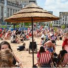 A similar urban beach will be outside Brent Cross Shopping Centre