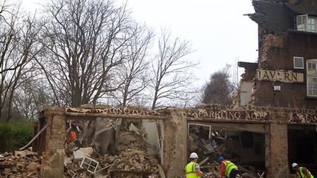 Carlton Tavern pub was demolished without permission by CLTX who must now rebuild a replica