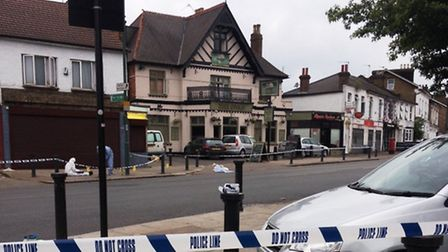 Romario Green was shot dead outside the Sudbury Swan pub (Pic credit: Hannah McGrath)