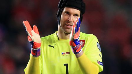 Arsenal's new goalkeeper Petr Cech