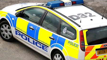 Two men have been arrested on suspicion of possessing a firearm at Seafield Caravan Park in Hemsby.