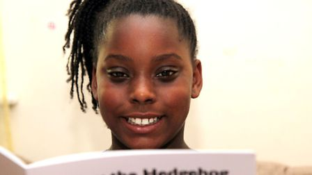 Africa Blagrove, 11, is up for an achievement award