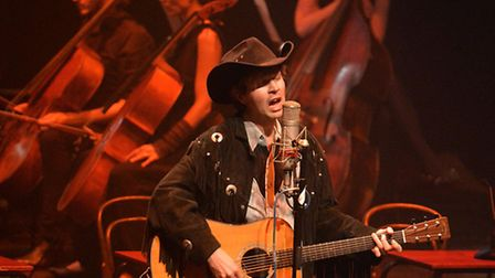 Beck dons his best cowboy attire at the Barbican. Picture: Mark Allan/Barbican