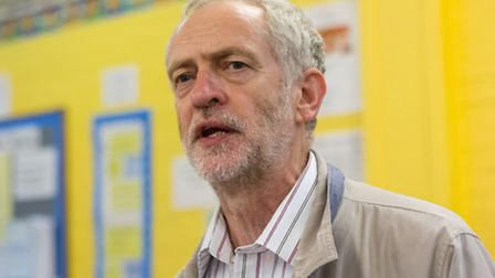 Jeremy Corbyn is in the Labour leadership contest
