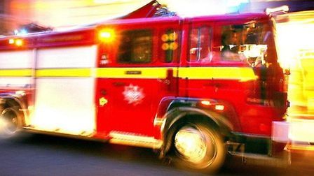 Residents were evacuated yesterday after reports of a strong smell of gas