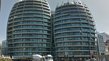 """Many of the flats at The Bezier Building at Old Street are thought to have been snapped up by """"Buy t"""
