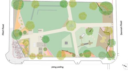 Finalized design layouts for Wood House Urban Park are to go in display this evening