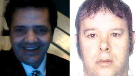 51-year-old Othamane Majdouline and 47-year-old Leandro Da Silva (Picture: Metropolitan Police)
