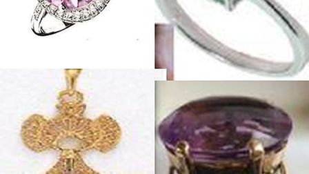 Some of the jewellery that was taken