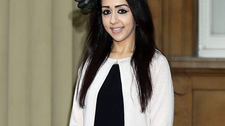 Sajda Mughal, who survived the 7/7 bombing at King's Cross in 2005, who was awarded with an OBE for