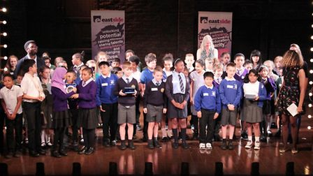 Leopold Primary School pupils won awards for poetry slamming.